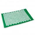 Массажный акупунктурный коврик EcoRelax, зеленый