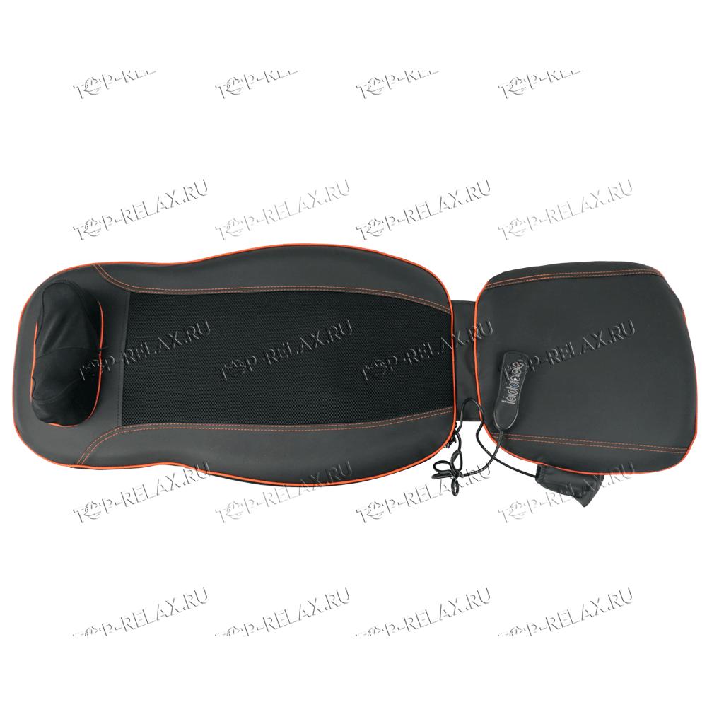 Массажная накидка на кресло CAR RELAX ABSOLUTE 3-в-1 ролики, вибромассаж, ИК прогрев (LF-01) - 4