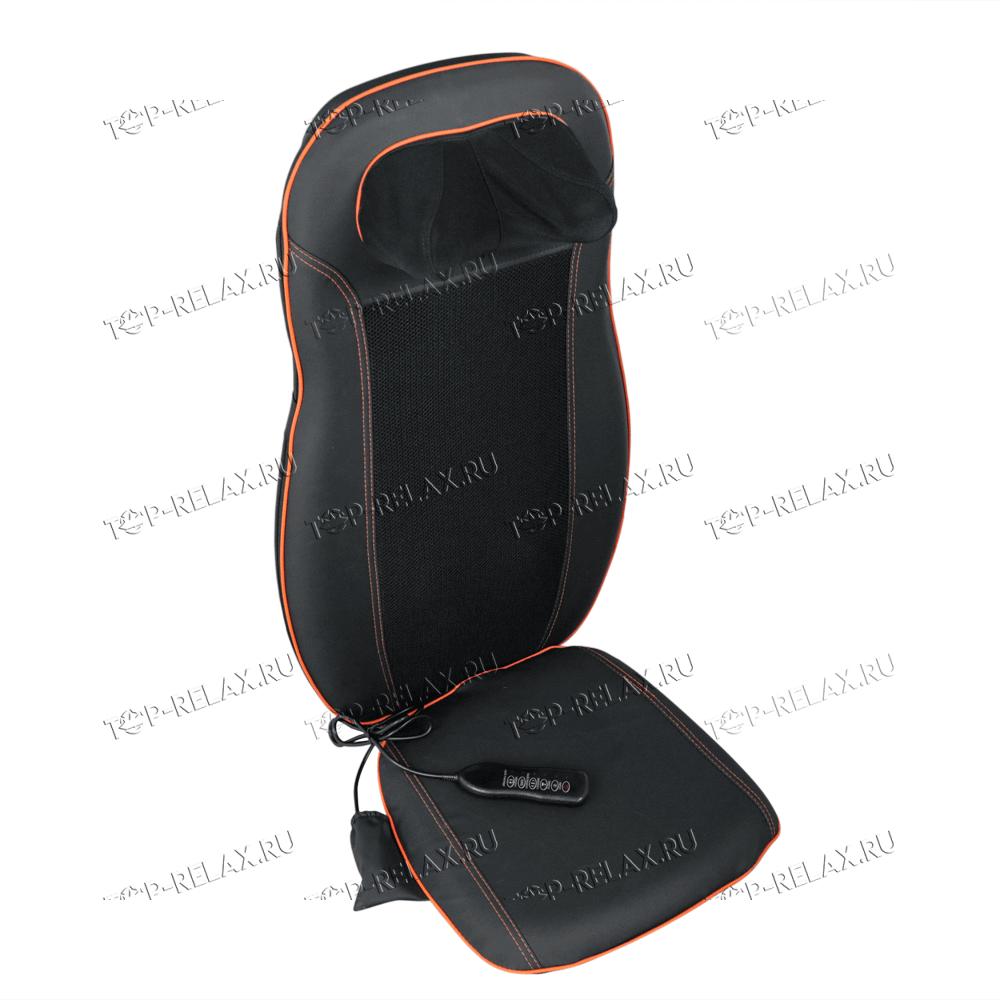 Массажная накидка на кресло CAR RELAX ABSOLUTE 3-в-1 ролики, вибромассаж, ИК прогрев (LF-01) - 3