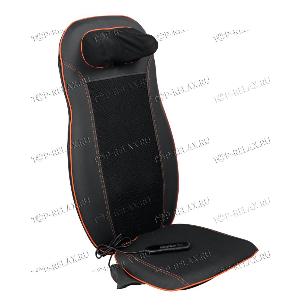 Массажная накидка на кресло CAR RELAX ABSOLUTE 3-в-1 ролики, вибромассаж, ИК прогрев (LF-01)