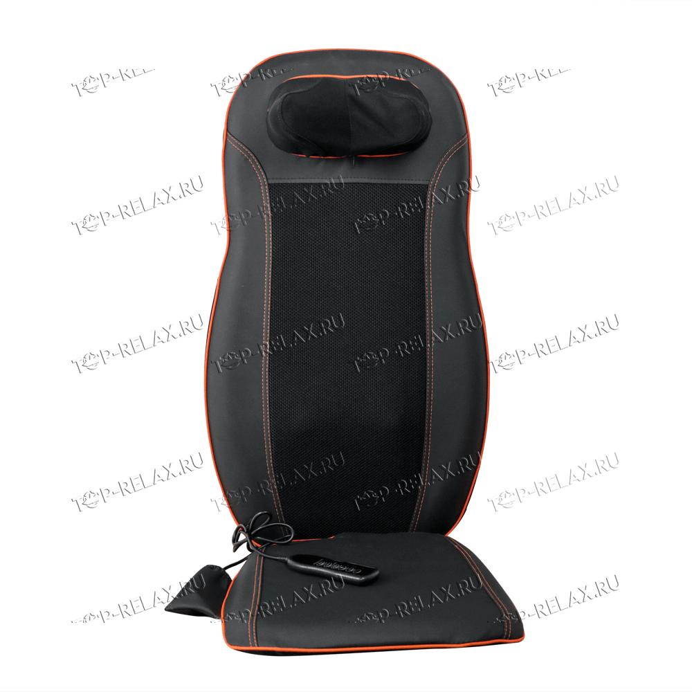 Массажная накидка на кресло CAR RELAX ABSOLUTE 3-в-1 ролики, вибромассаж, ИК прогрев (LF-01) - 2
