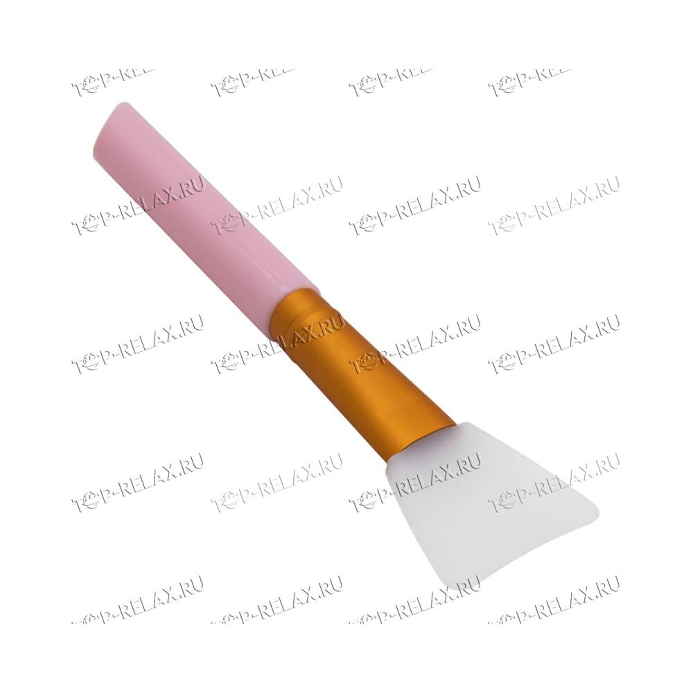 Массажер для лица JADE ROLLER из натурального розового кварца, кисть, Гуаша - 5