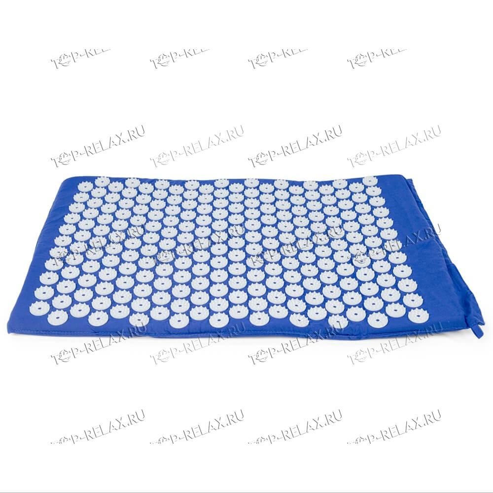 Массажный акупунктурный коврик EcoRelax, синий