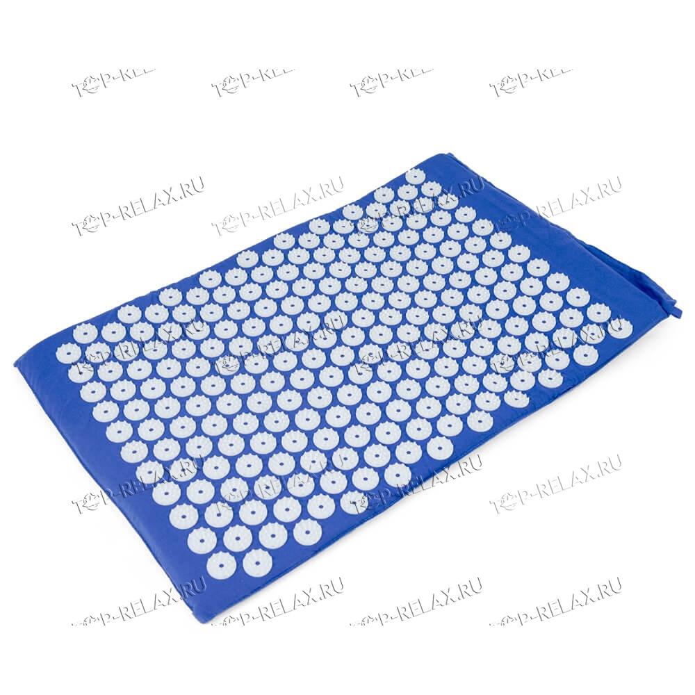 Массажный акупунктурный коврик EcoRelax, синий - 2