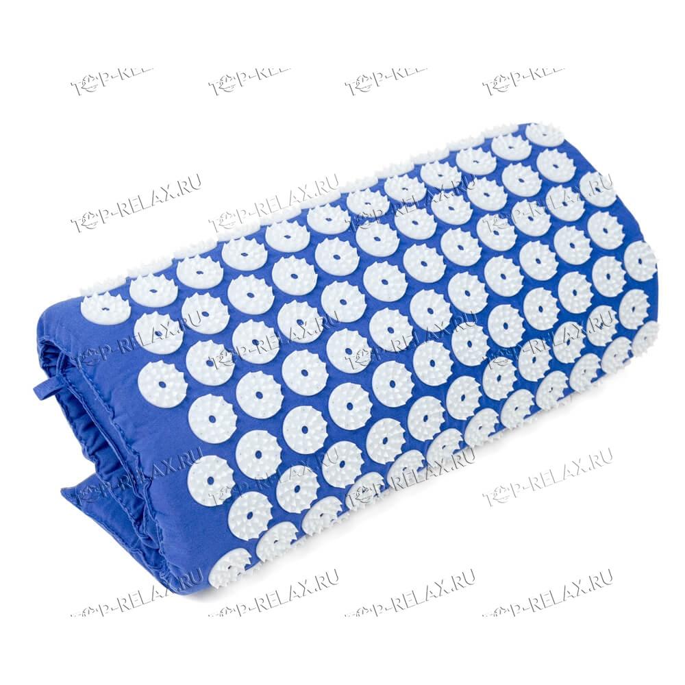 Массажный акупунктурный коврик EcoRelax, синий - 3