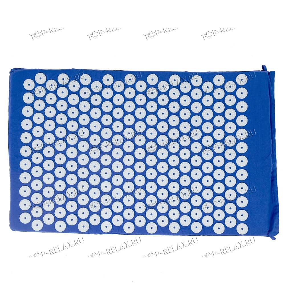 Массажный акупунктурный коврик EcoRelax, синий - 4
